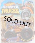 2018 HW MONSTER TRUCKS! 【DAIRY DELIVERY】 DK.BLUE (includes COLLECTABLE WHEEL!)