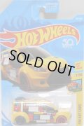 【HOT WHEELS FORD TRANSIT CONNECT】 YELLOW/5SP