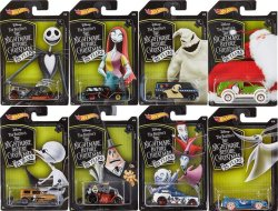 "画像1: 2018 KROGER EXCLUSIVE 【""DISNEY"" THE NIGHTMARE BEFORE CHRISTMAS 25YEARS 8種セット】Custom '69 VW Squareback/Super Van/Street Creeper/Midnight Otto/Cool-One/Power Panel/Cockney Cab II/Quick 'N Sik(予約不可)"