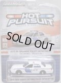 2018 GREENLIGHT HOT PURSUIT S28 【2010 FORD CROWN VICTORIA POLICE INTERCEPTOR】 WHITE/RR (CITY OF ORLANDO POLICE DEPARTMENT)
