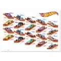 "2018 HW 50th ANNIVERSARY 【""USPS EXCLUSIVE"" Hot Wheels Forever 50c Sheet of 20】 (アメリカの郵便局で販売された50セント切手x20葉です)"