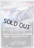 "2018 TSM MODELS - MINI GT ""MIJO EXCLUSIVE"" 【McLAREN SENNA】 PALE DK.BLUE/RR (4800個限定)(予約不可)"