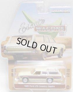 画像1: 2018 GREENLIGHT ESTATE WAGON S1 【1985 FORD LTD COUNTRY SQUIRE】 CREAM-WOOD/RR