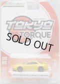 2018 GREENLIGHT TOKYO TORQUE S4 【2001 NISSAN SKYLINE GT-R (BNR34)】 YELLOW/RR
