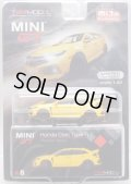 "2019 TSM MODELS - MINI GT ""MIJO EXCLUSIVE"" 【HONDA CIVIC TYPE-R (左ハンドル仕様)】 YELLOW/RR (6000個限定)(予約不可)"