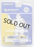 """2018 GREENLIGHT HOBBY EXCLUSIVE 【""""MICHELIN"""" 2017 FORD GT】 BLUE-YELLOW/RR"""