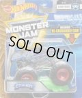 2018 MONSTER JAM includes RE-CRUSHABLE CAR! 【CRUSADER】 CLEAR BLACK(X-RAY BODY)