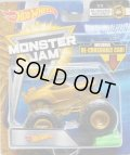 2018 MONSTER JAM includes RE-CRUSHABLE CAR! 【TEAM HOT WHEELS】 GOLD (MJ GOLDEN MACHINES)(CHASE)