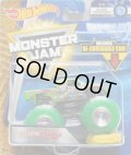 2018 MONSTER JAM includes RE-CRUSHABLE CAR! 【BAD NEWS TRAVELS FAST】 LT.GREEN (CLEAR CRUSHERS)