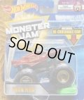 2018 MONSTER JAM includes RE-CRUSHABLE CAR! 【IRON MAN】 DK.RED (TOUR FAVORITES)