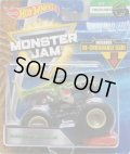 2018 MONSTER JAM includes RE-CRUSHABLE CAR! 【MEGA WREX】 GREEN (CREATURES)