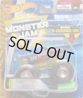 2018 MONSTER JAM includes RE-CRUSHABLE CAR! 【TEAM HOT WHEELS】 SPEC.RACE TEAM BLUE-RED (EPIC ADDITIONS)(2018 NEW LOOK!)