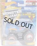 2018 MONSTER JAM includes RE-CRUSHABLE CAR! 【TEAM HOT WHEELS】 RACE TEAM BLUE (EPIC ADDITIONS)(2018 NEW TRUCK!)