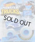 "2019 HW MONSTER TRUCKS! ""BLIZZARD BASHERS""【HOT WHEELS DELIVERY (DAIRY DELIVERY)】 MET.BLUE (includes COLLECTABLE FLAGL!)"