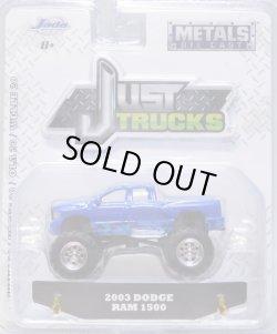 画像1: 2018 JADA - JUST TRUCKS 【2003 DODGE RAM 1500】BLUE/RR