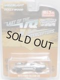 """2019 GREENLIGHT """"HOLLYWOOD"""" MIJO EXCLUSIVE CHROME EDITION 【""""LAST OF THE V8 INTERCEPTORS"""" 1973 FORD FALCON XB】CHROME/RR (CHASE)"""