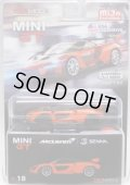 "2019 TSM MODELS - MINI GT ""MIJO EXCLUSIVE"" 【McLAREN SENNA】 ORANGE/RR (USA EXCLUSIVE)(CHASE)"