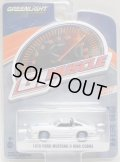 2019 GREENLIGHT GL MUSCLE S21 【1978 FORD MUSTANG II KING COBRA】 WHITE/RR
