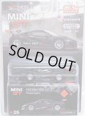 "2019 TSM MODELS - MINI GT 【""MIJO EXCLUSIVE"" HONDA NSX GT3 - PRESENTATION】 FLAT BLACK/RR (予約不可)"
