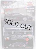 "2019 TSM MODELS - MINI GT 【""MIJO EXCLUSIVE"" HONDA NSX GT3 - PRESENTATION】 FLAT BLACK/RR (予約不可)"