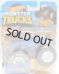 2019 HW MONSTER TRUCKS! 【BIGFOOT】 MET.BLUE (includes CONNECT AND CRASH CAR)