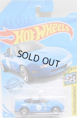 画像1: 【'91 MAZDA MX-5 MIATA】 LT.BLUE/5SP (NEW CAST)
