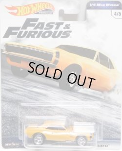 画像1: 2019 HW PREMIUM  FAST & FURIOUS 【'67 CHEVROLET CAMARO】ORANGE/RR (予約不可)
