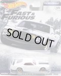 2019 HW PREMIUM  FAST & FURIOUS 【'69 FORD MUSTANG BOSS 302】WHITE/RR (予約不可)