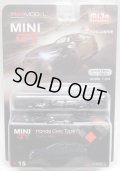 "2019 TSM MODELS - MINI GT 【""MIJO EXCLUSIVE"" HONDA CIVIC TYPE R ""CRYSTAL BLACK"" (左ハンドル仕様)】 BLACK/RR (予約不可)"