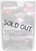 "2019 TSM MODELS - MINI GT 【""MIJO EXCLUSIVE"" HONDA CIVIC TYPE R ""CUSTOMER RACING STUDY"" (左ハンドル仕様)】 BLACK/RR (予約不可)"