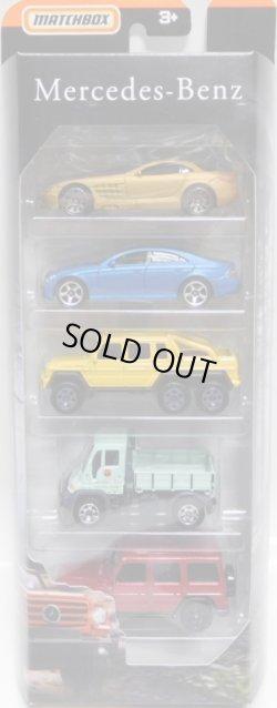 画像1: 2019 MATCHBOX 5PACK 【MERCEDES-BENZ】Mercedes-Benz SLR McLaren/CLS500/G63 AMG 6x6/Unimog U300/'14 Mercedes-Benz G-Class G 550
