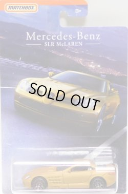 画像1: 2018 MERCEDES-BENZ SERIES 【MERCEDES-BENZ SLR McLAREN】 FLAT GOLD