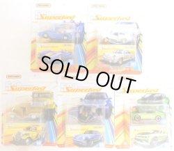 画像1: 2019 MATCHBOX SUPERFAST 50th ANNIVERSARY 【Bアソート 5種セット】'65 VW TYPE 3 FASTBACK/'80 PORSCHE 911 TURBO/'17 CHEVY CAMARO/'32 FORD PICKUP/BLUE SHARK