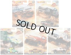 "画像1: 【仮予約】PRE-ORDER - 2019 HW CAR CULTURE 【Kアソート DESERT 5種セット】 88 JEEP GRAND WAGONEER/17 FORD F-150 RAPTOR/VOLKSWAGEN""BAJA BUG""(NEW CAST)/80 DODGE MACHO POWER WAGON/70 OLDSMOBILE 442(10月下旬入荷予定)"