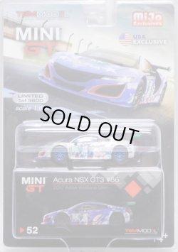 """画像1: 2019 TSM MODELS - MINI GT 【""""MIJO EXCLUSIVE"""" ACURA NSX GT3 #86 """"2017 IMSA WATKINS GLEN UNCLE SAM"""" (左ハンドル仕様)】 ZAMAC/RR (CHASE)"""