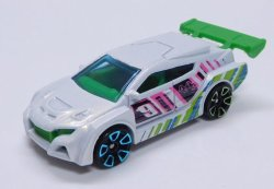画像1: 2019 WALMART EXCLUSIVE MYSTERY SERIES3 【LOOP COUPE】 WHITE/FTE2 (予約不可)