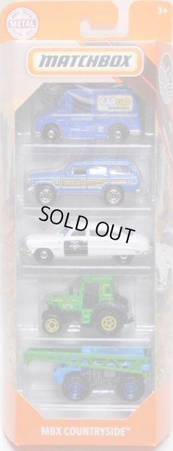 画像1: 2020 MATCHBOX 5PACK 【MBX COUNTRYSIDE】Postal Service Delivery Truck/Jeep Wagoneer/'51 Hudson Hornet Police/Tractor/Rain Maker   (予約不可)