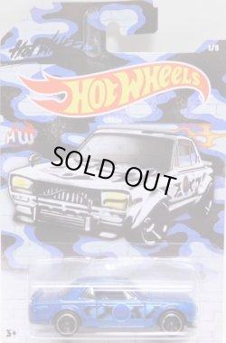"""画像1: 2020 HW AUTO MOTIVE """"URBAN CAMO"""" 【NISSAN SKYLINE H/T 2000GT-X】BLUE CAMO/MC5(予約不可)"""