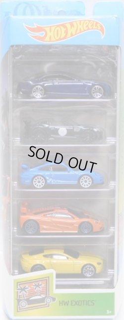 画像1: 2020 5PACK 【HW EXOTICS】Cadillac Elmiraj/'15 Jaguar F-Type Project 7/Porsche 911 GT3 RS/McLaren F1 GTR/Aston Martin V8 Vantage