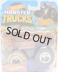 2019 HW MONSTER TRUCKS! 【HOT WHEELS RACING】 R.T.RED (includes CONNECT AND CRASH CAR)