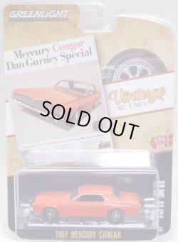 画像1: 2020 GREENLIGHT VINTAGE AD CARS S2【1967 MERCURY COUGAR】 RED/RR