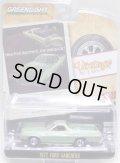 2020 GREENLIGHT VINTAGE AD CARS S1【1972 FORD RANCHERO】 GREENSILVER/RR
