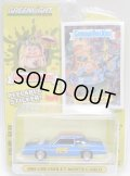 2020 GREENLIGHT GARBAGE PAIL KIDS S1 【1983 CHEVROLET MONTE CARLO】 BLUE/RR