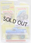 2020 GREENLIGHT GARBAGE PAIL KIDS S1 【1995 MODIFIED MONSTER TRUCK】 BLUE/RR (GREEN MACHINE)
