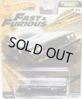 """2020 HW PREMIUM FAST & FURIOUS """"MOTOR CITY MUSCLE"""" 【'87 BUICK GRAND NATIONAL GNX】 BLACK/RR (NEW CAST)"""