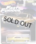 "2020 HW PREMIUM FAST & FURIOUS ""MOTOR CITY MUSCLE"" 【'66 CHEVY NOVA】 DK.GOLD/RR"