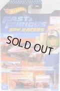 """2020 HW FAST & FURIOUS """"SPY RACERS"""" 【HYPERFIN】 RED/RA6"""