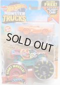 2020 HW MONSTER TRUCKS! 【DEMO DERBY】RED (includes FREE! HOT WHEELS)(NEW FOR 2020)