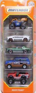 2020 MATCHBOX 5PACK 【ROCKY PEAKS】Sand Shredder/'74 Volkswagen Type 181/'68 Ford Mustang GT CS/Jeep Cherokee/'76 International Scout 4x4 (予約不可)