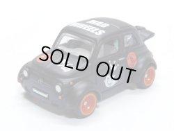 画像1: MAD WHEELS (マッドホイール) 【'60s FIAT 500D MODIFICADO (カスタム完成品)】FLAT BLACK (送料サービス適用外)
